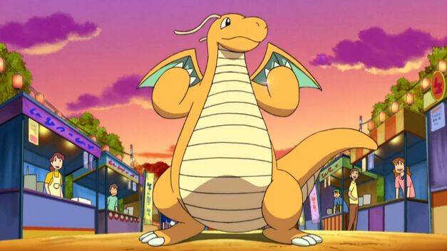dragonite from the pokemon anime