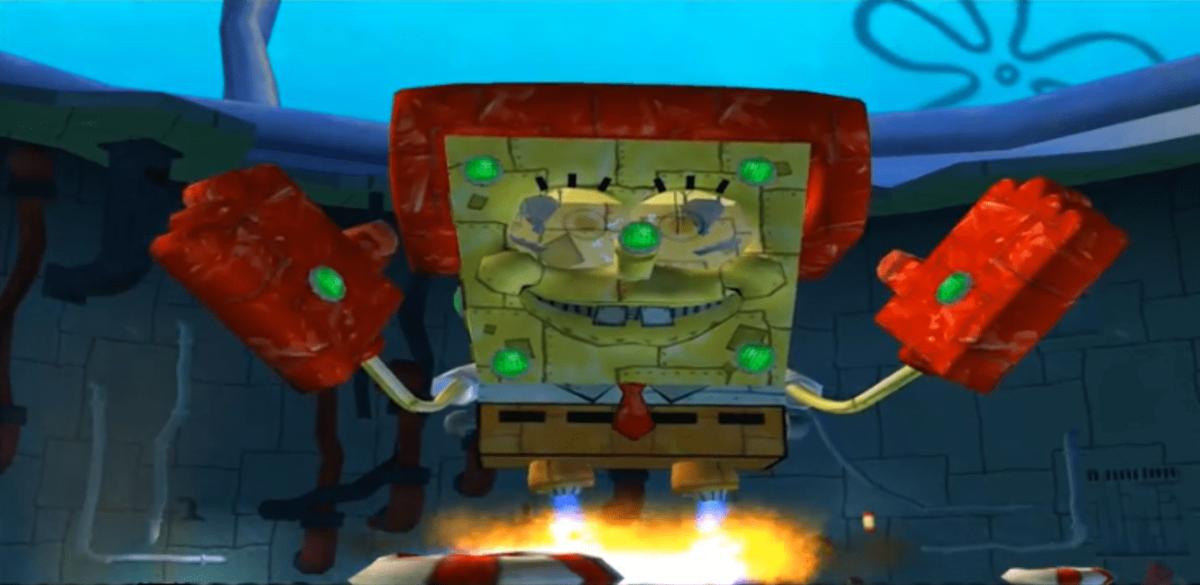 Robot Spongebob.