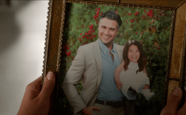 Rogelio Jane Father Daughter baby photo