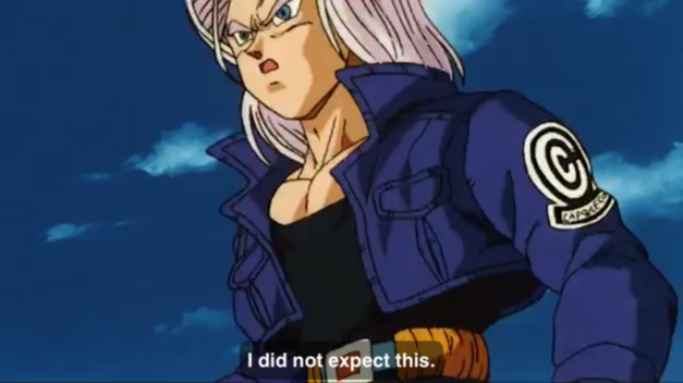 trunks dbz abridged