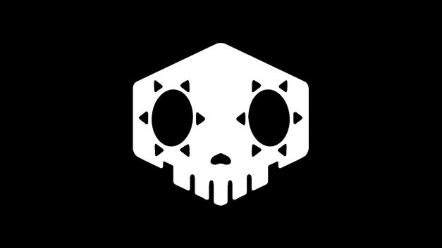 sombra skull logo from Overwatch