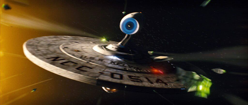 The USS Kelvin is attacked by the Narada, marking the beginning of the Kelvin Timeline.