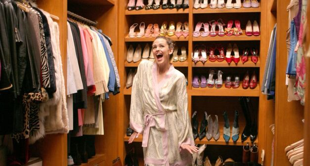 13 going on 30 jennifer garner in closet dancing