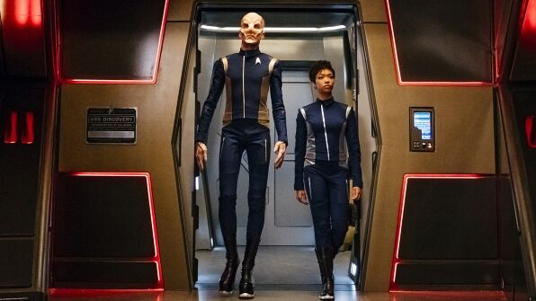 Star Trek: Discovery Saru-Burnham