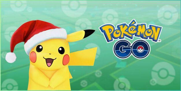 Pokémon Go Togepi Pichu Santa Pikachu