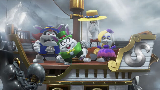 Super Mario Odyssey, Evil Bunnies