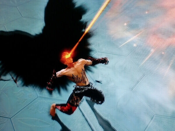 Devil Jin Lasers Eyes