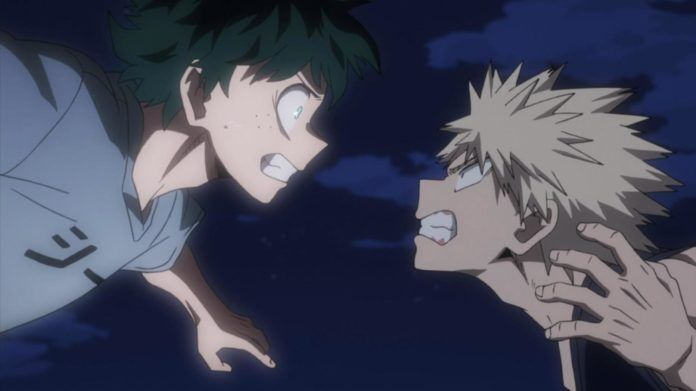 Deku vs Bakugo