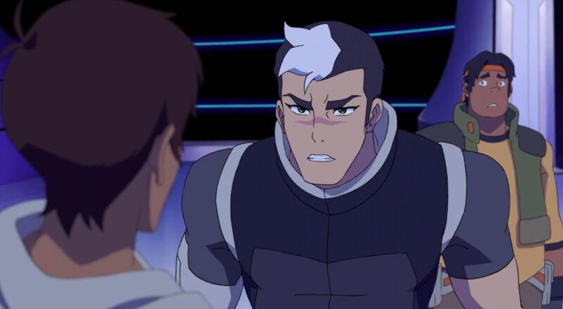 Mean Shiro yells at Lance