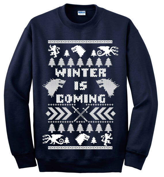 Game of Thrones ugly sweater