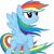 Rainbow dash 12345678910