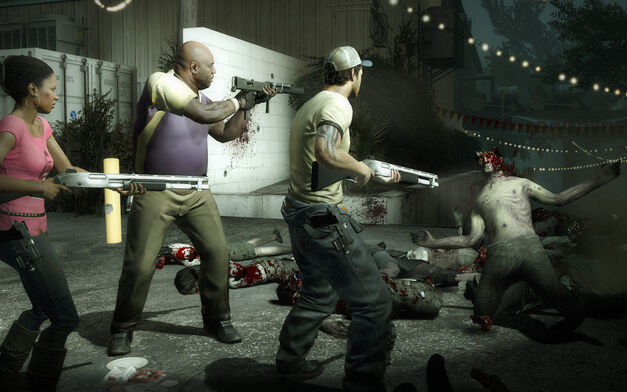 A screenshot of Left 4 Dead 2 for PC.