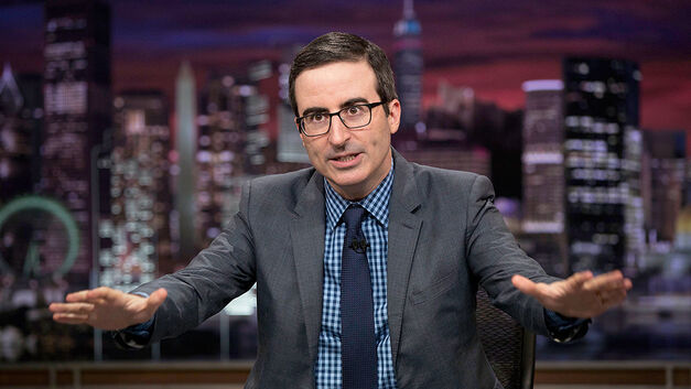 HBO personality John Oliver