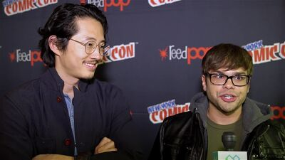 NYCC Interview: Steven Yeun and Charlie Saxton of Netflix's 'Trollhunters'