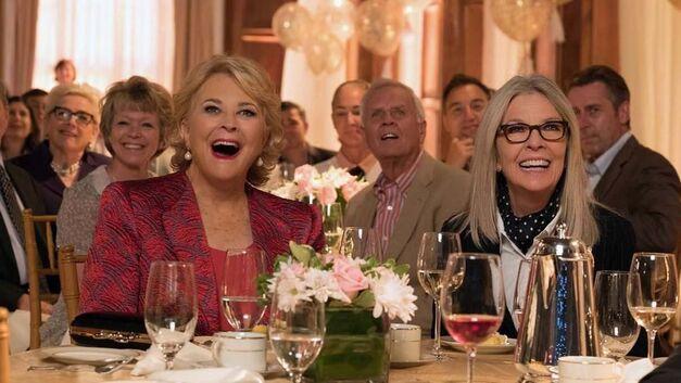 Candace Bergen and Diane Keaton in 'Book Club'