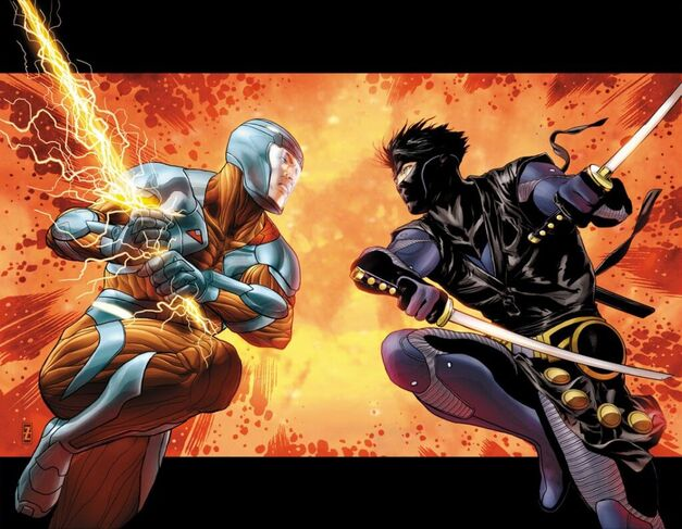 Valiant Entertainment Comics Ninjak XO Manowar Primer