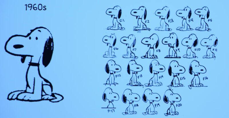 Snoopy Peanuts Movie Versions