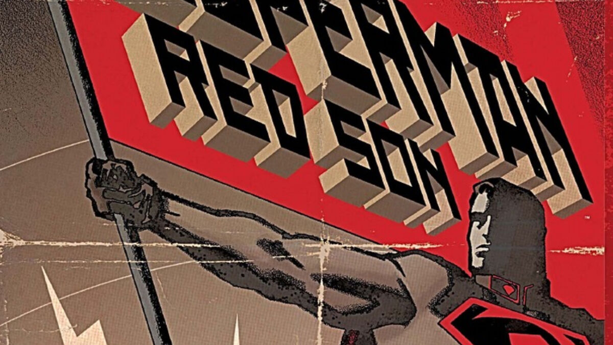 Superman: Red Son trade paperback cover