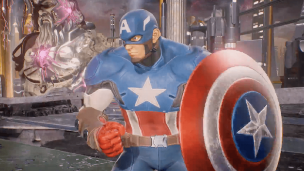 Marvel Vs. Capcom: Infinite Roster Captain America