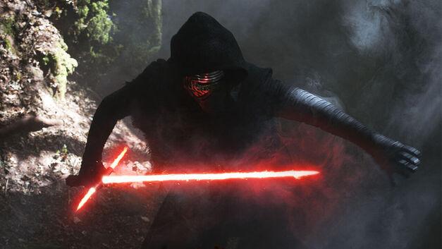 Star Wars the force awakens Kylo Ren lightsaber