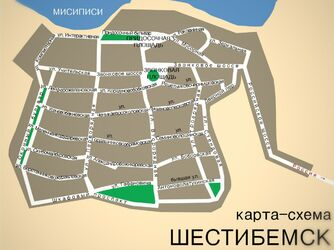 Карта города правка