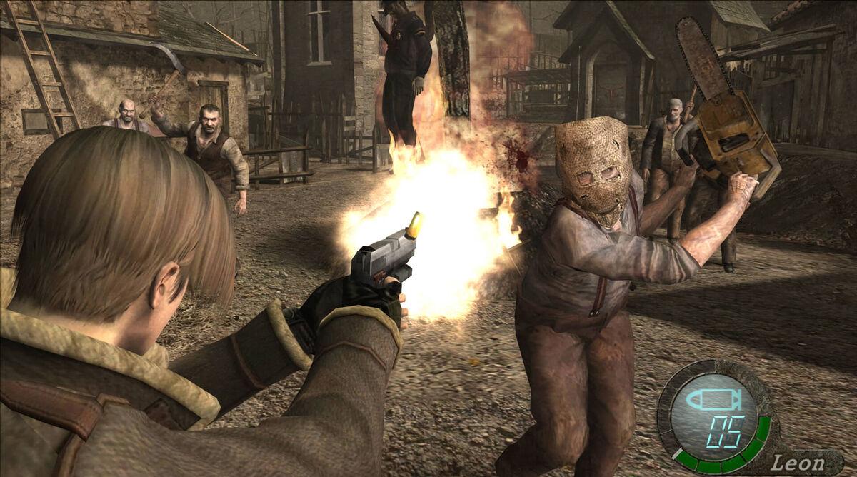 Resident Evil 4 Leon Kennedy