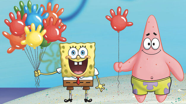 SpongeBob SquarePants and Patrick Starfish
