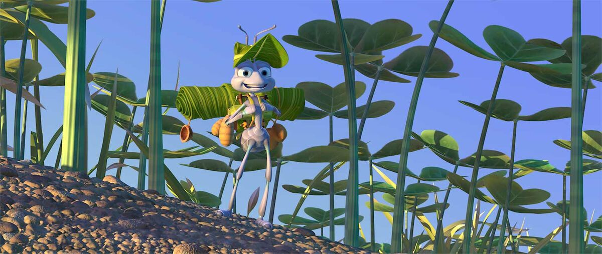 Flik in A Bug's Life.