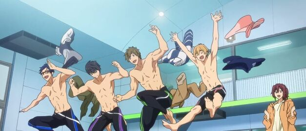 Free! Take Your Marks the Iwatobi Swim Club