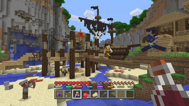Minecraft pirate bay