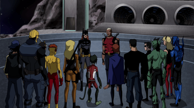 Young Justice: Invasion team
