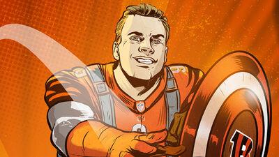 Ultimate Fandom NFL Draft: Joe Burrow as Captain America