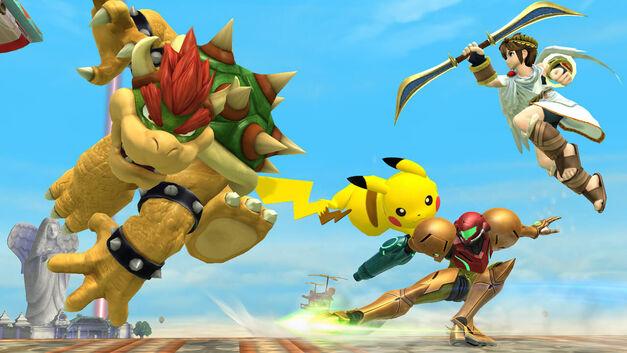 Nintendo NX One Console Future Smash Bros Wii u Bowser Samus Metroid Pit Kid Icarus Pikachu