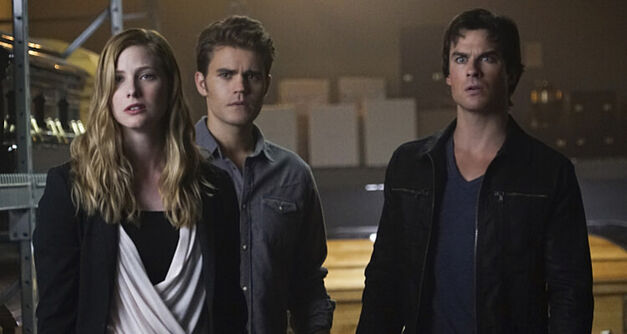 Valerie, Stefan, and Damon from TVD