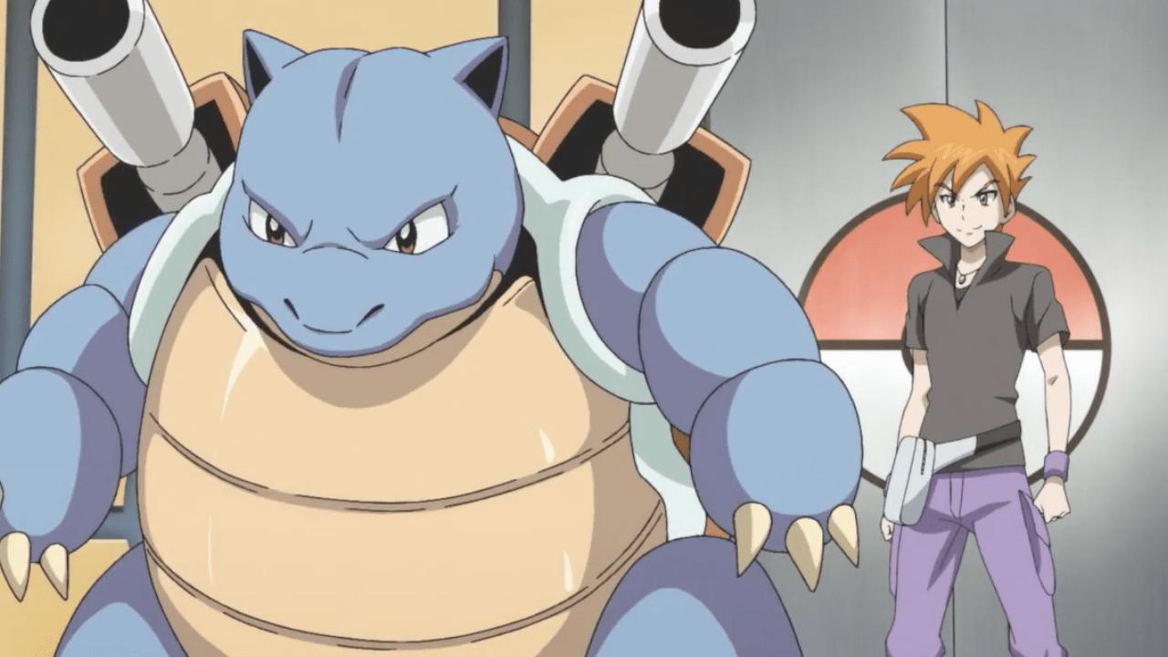 Pokémon Generations Recaps Episode 3 Blastoise Gary Anime