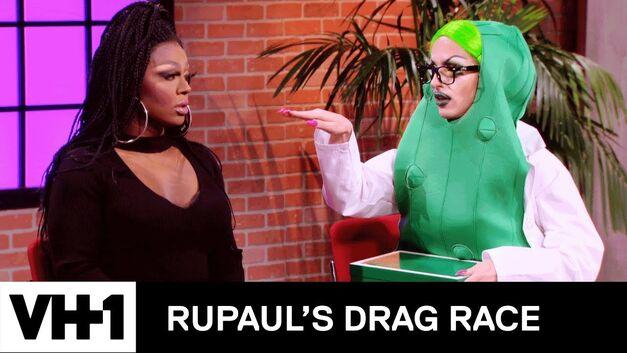 Mayhem Miller and Miz Cracker on 'RuPaul's Drag Race'