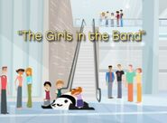 The girls in the band episode title