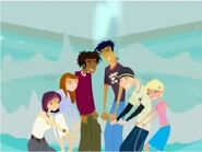 The gang in the 6teen theme song