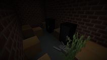 Police station weapon storage