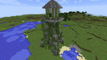 Water tower outside 0