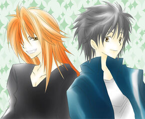 Semimaru and Arashi