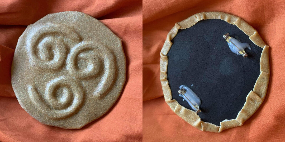 Avatar Aang cosplay Air Pin Photo