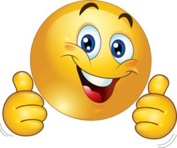 image clipart two thumbs up happy smiley emoticon 256x256 eec6 png rh 703 org network wikia com Two Thumbs Up Silhouette two thumbs up clipart free