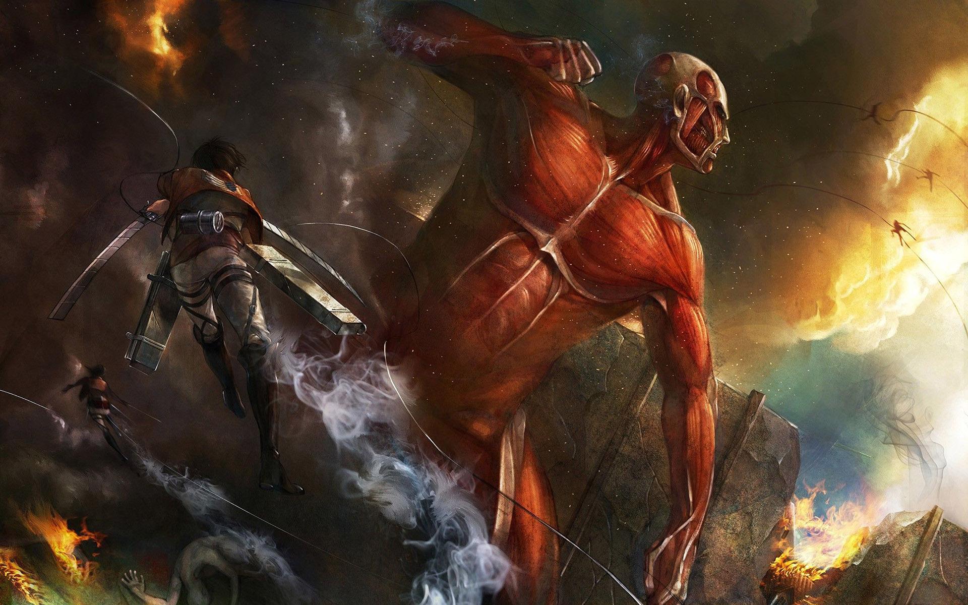 Attack On Titan Anime Hd Wallpaper 1920x1200 2341