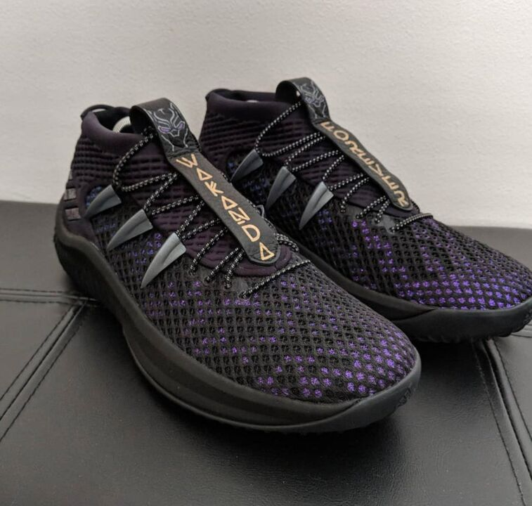 6957e8848 Wakanda Forever. These Black Panther x Dame 4 sneakers are . (via   mammothnamedjim