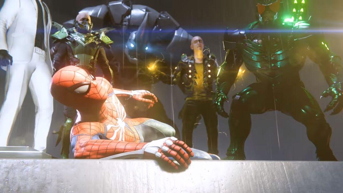 Spider-Man villains Doctor Octopus Rhino Electro Scorpion Vulture Mr Negative enemies