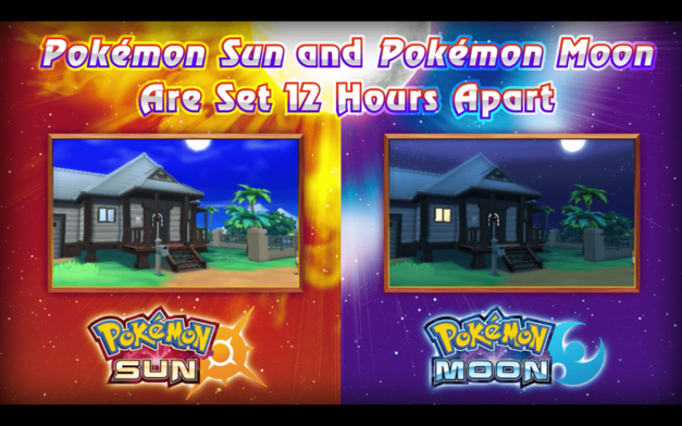 Pokemon Sun and Moon Version Differences