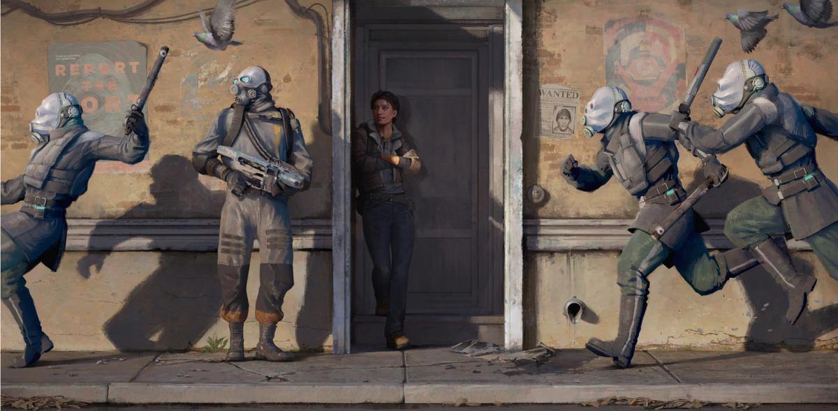 Half-Life: Alyx heroine Alyx Vance.