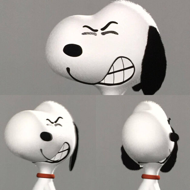 Snoopy Picasso Peanuts Movie