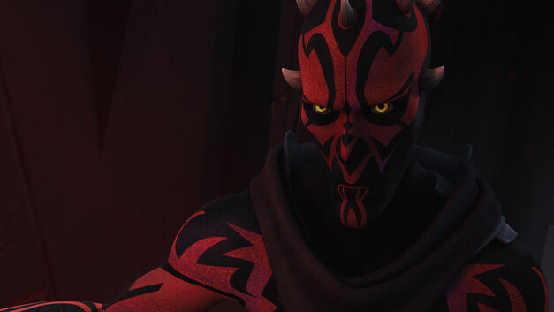 "Darth Maul in ""Twilight of the Apprentice"""